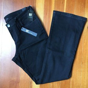 KUT FROM THE KLOTH Black Farrah Boot Cut Jeans 16